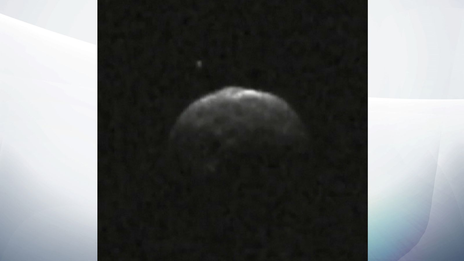 Footage of Asteroid Florence in its closest fly-by with earth since the 1850s.