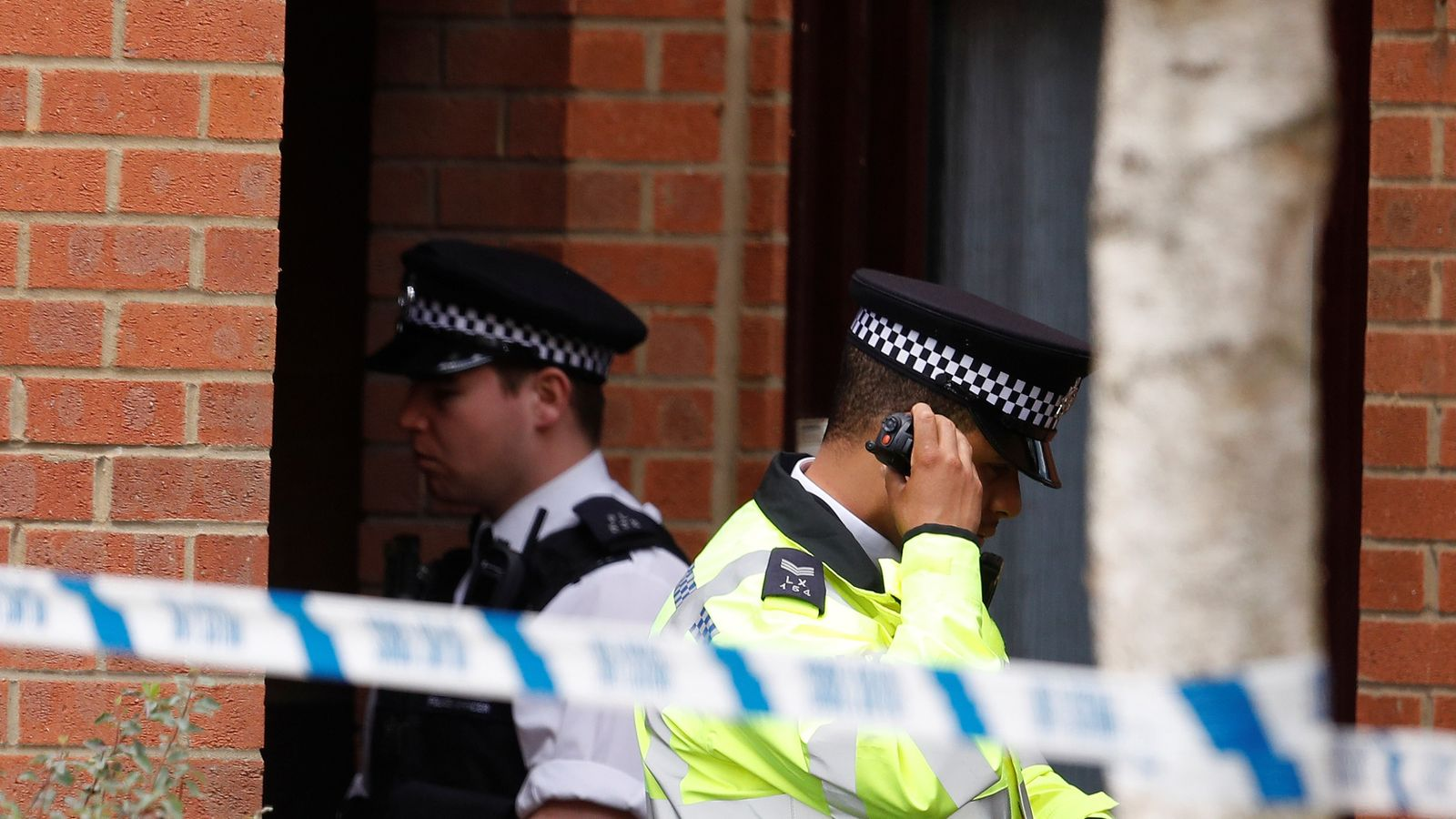 Police at property in Stanwell