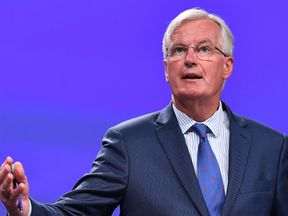 EU chief Brexit negotiator Michel Barnier