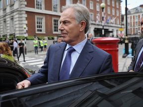 Tony Blair has called for tough new immigration rules to avoid Brexit