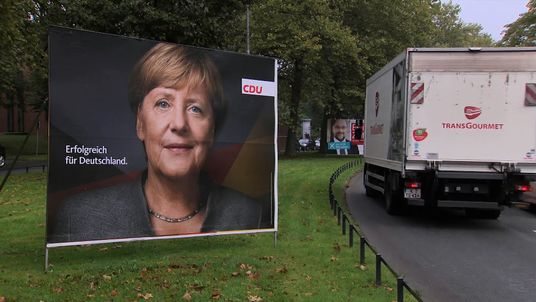Angela Merkel is still in a strong position after overseeing Germany's economic growth
