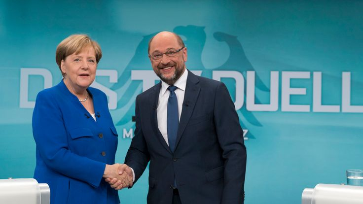 Once A Contender, Angela Merkel's Main Rival Stumbles As Election Approaches