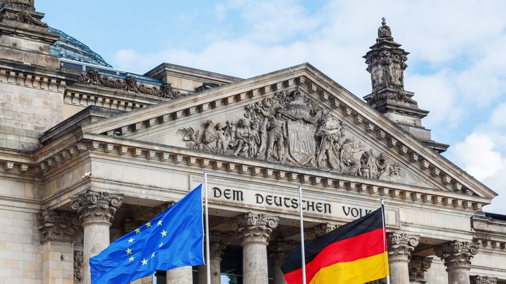 Going into election, Germans are happy with their economy and political establishment