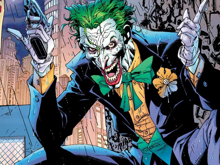 The real Joker, courtesy of DC Comics