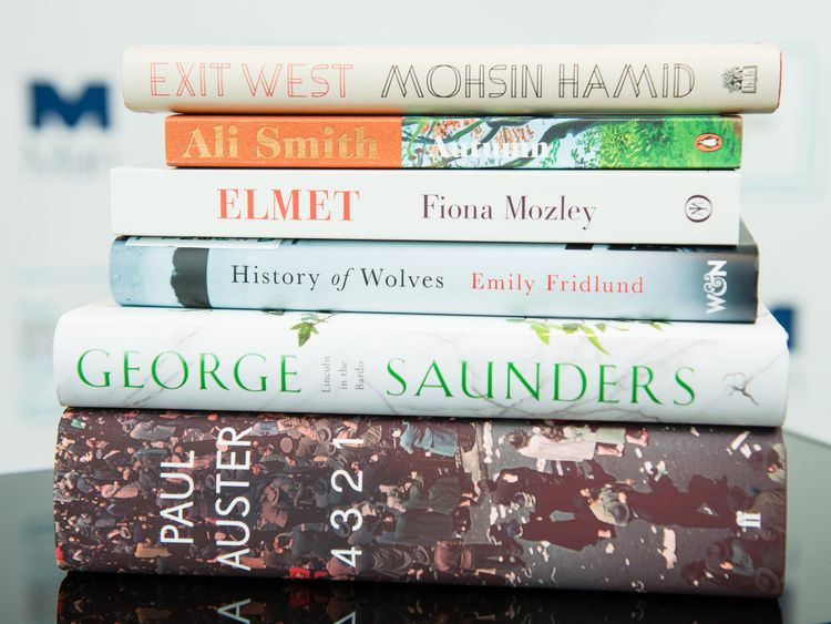 The six books nominated for this year's prize