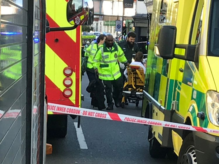 Police identifies London Tube bombing suspect