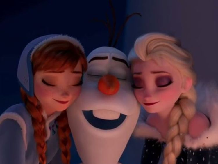 Frozen is the most successful animated film of all-time at cinemas