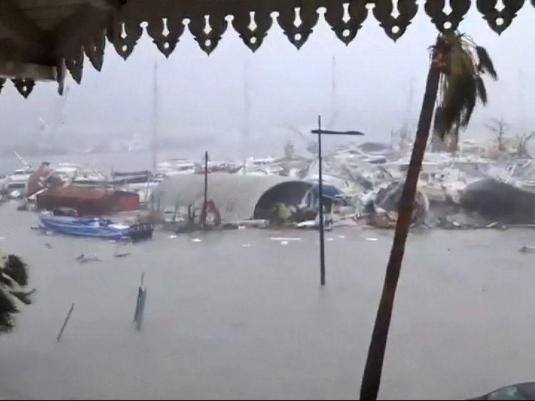 Damage in Saint Martin