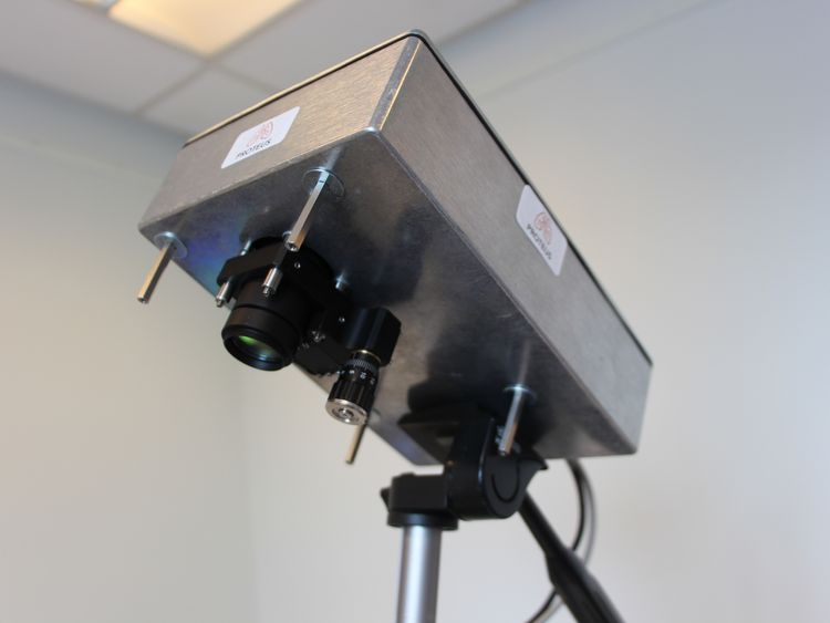 The camera can detect individual photons. Pic: University of Edinburgh