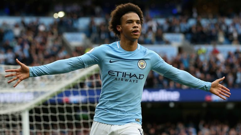 Leroy Sane starred for Man City in their 5-0 win over Crystal Palace