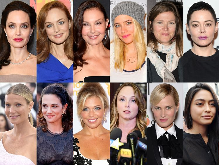 The women who have accused Harvey Weinstein