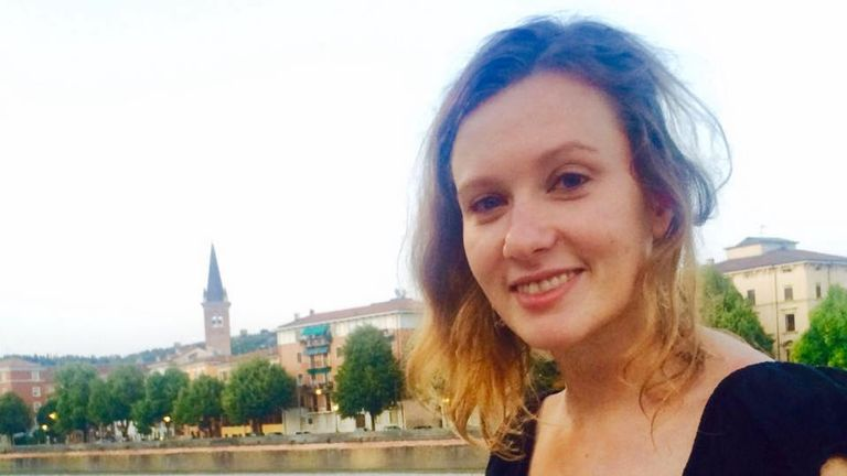 British embassy worker Rebecca Dykes, whose death is being investigated