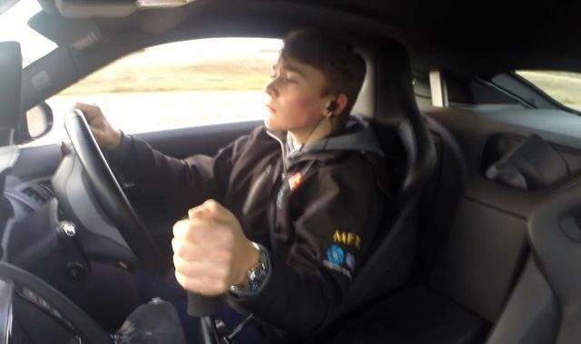 West Sussex amputee racing driver returns to the track