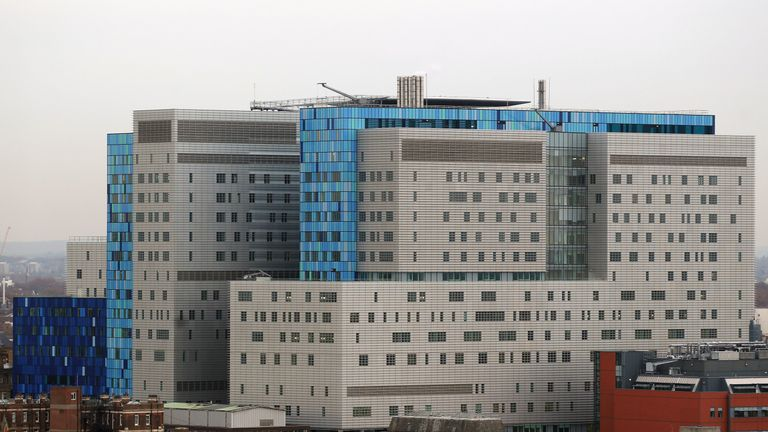 The rebuilding of the Royal London Hospital in east London was funded by PFI