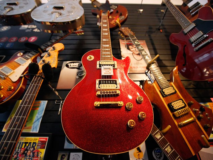 Iconic Gibson guitar company facing bankruptcy
