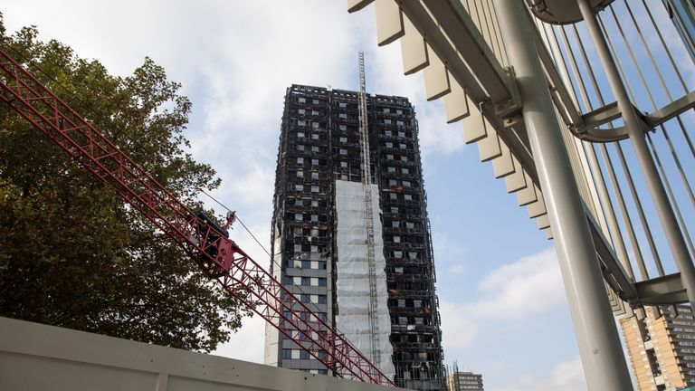 71 people were killed in the Grenfell Tower blaze