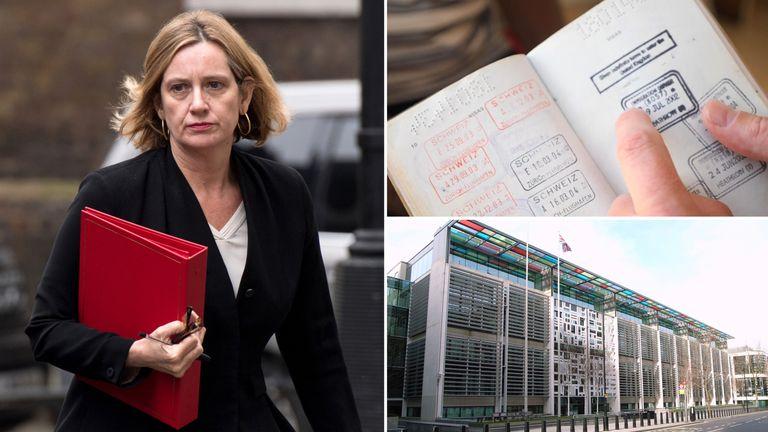 Amber Rudd, Home Office. Pic: Steve Cadman