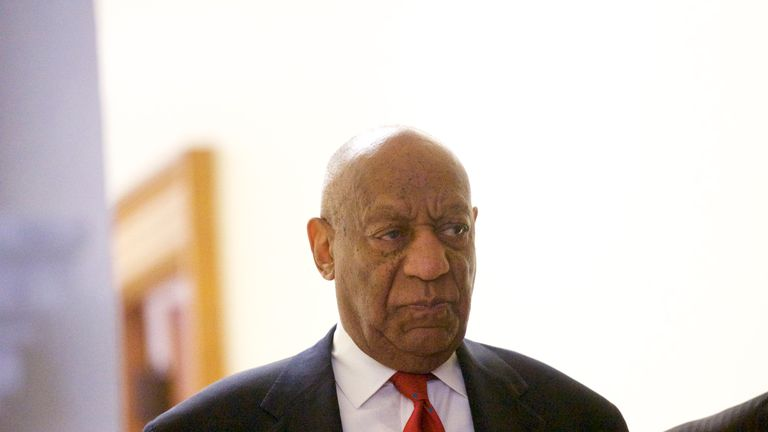 Cosby faces dying behind bars