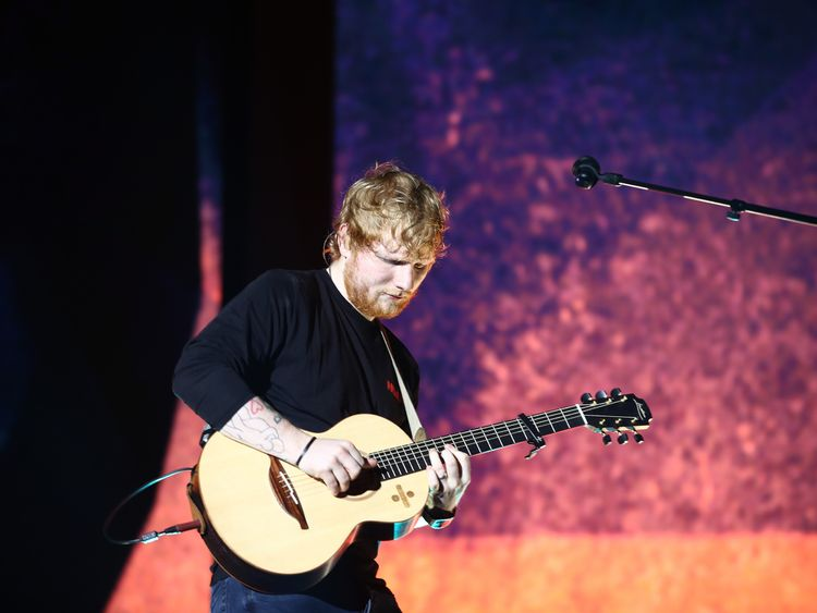 Sheeran ticket row: 'I'm not stitching fans up'