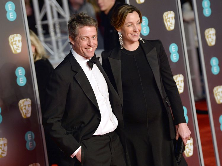 It's Love, Actually as Hugh Grant 'ties knot'