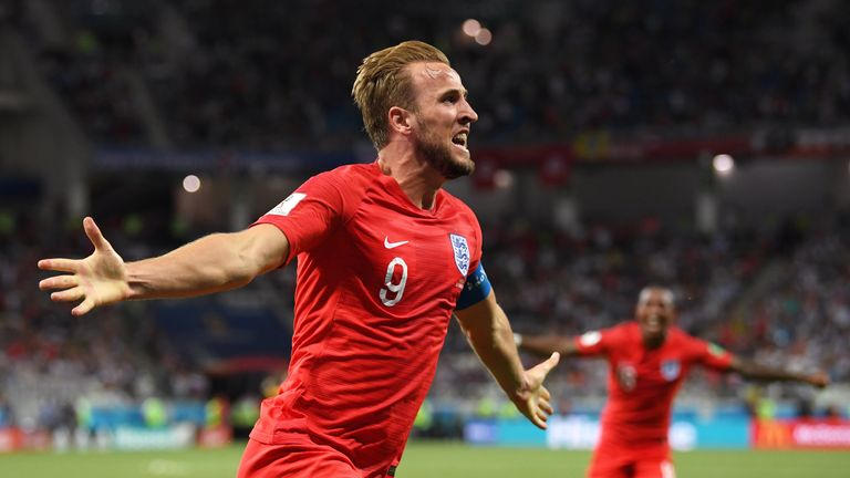 Harry Kane scored twice as England earned three points in their World Cup opener