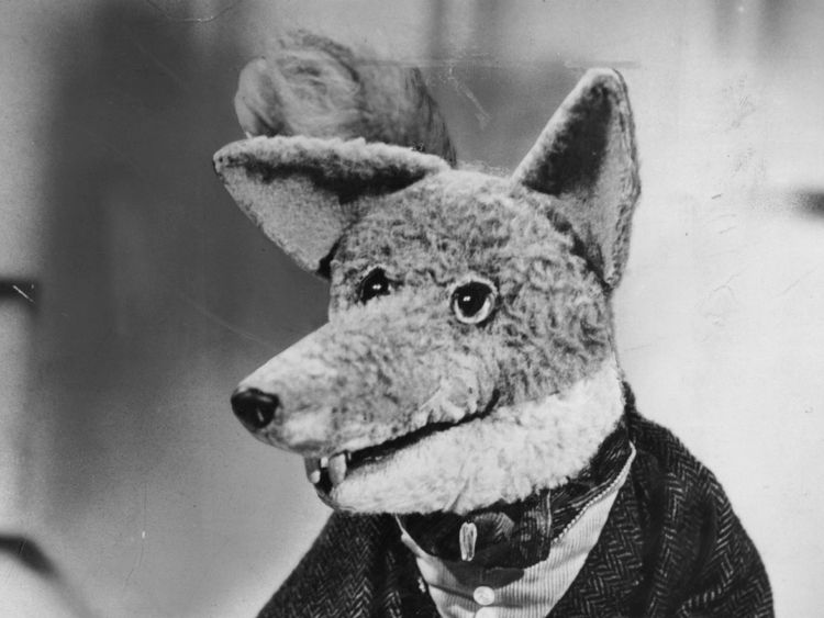 Firmin created sophisticated and mischievous fox Basil Brush