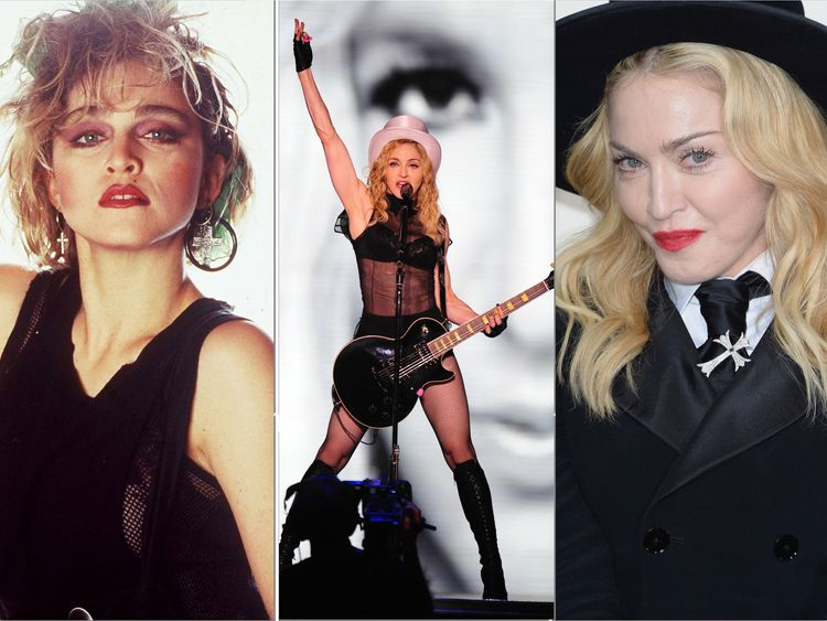Madonna at 60: Lace, sex and blond ambition
