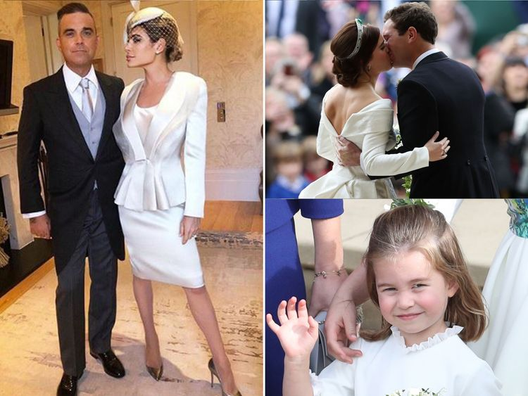 She's The One! Robbie sings at royal wedding