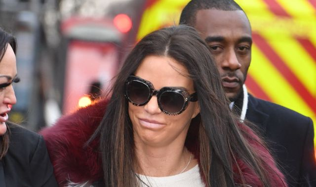 Horsham's Katie Price pleads not guilty to drink-driving
