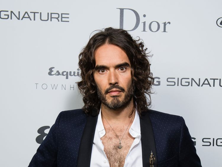 Russell Brand reveals why he's not a hands-on dad