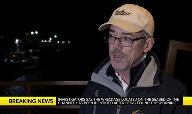 West Sussex 'Shipwreck Hunter' speaks out on Channel plane find