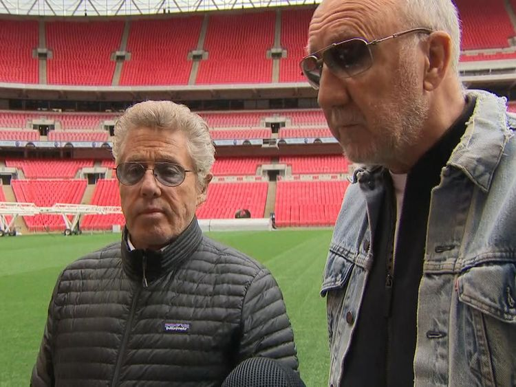 The Who on splitting up, Brexit and why Ed Sheeran shouldn't be sued