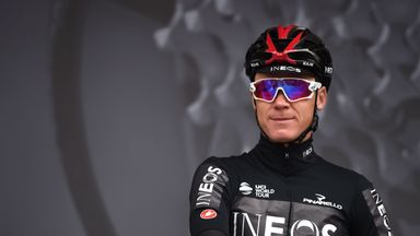 Froome: I'm on road to recovery