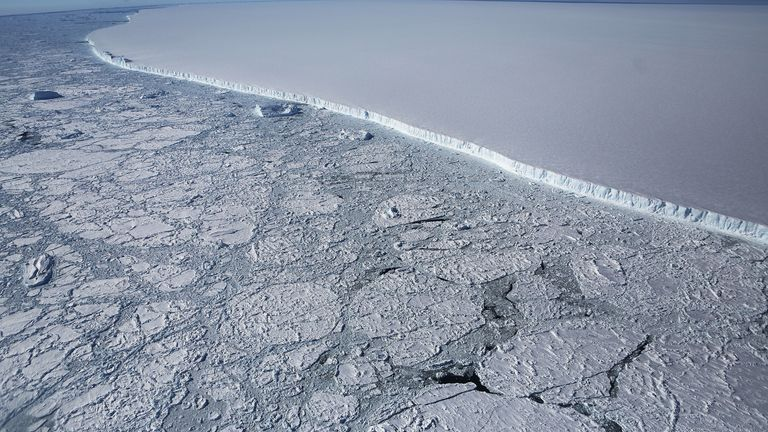 The Antarctic has lost trillions of tonnes of ice