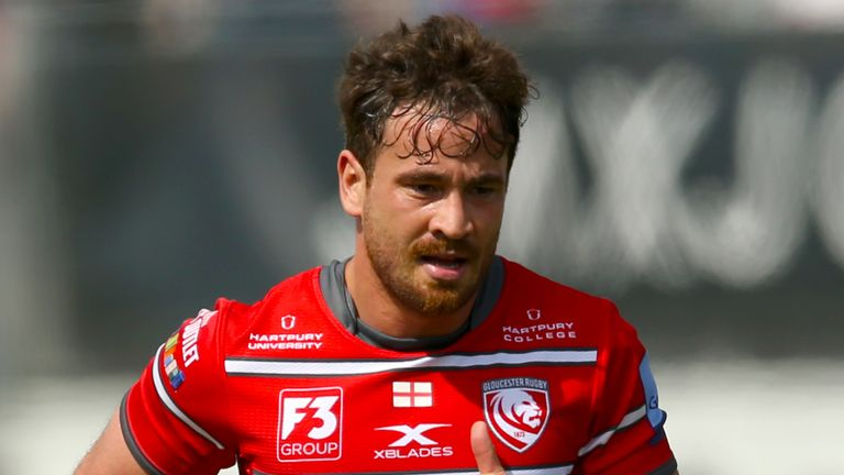 Gloucester Rugby's Danny Cipriani during the Gallagher Premiership, Semi-final match at Allianz Park, London.