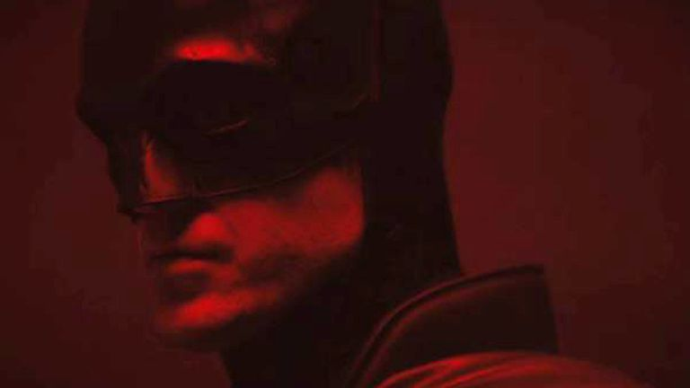 The first look at Robert Pattinson as The Batman