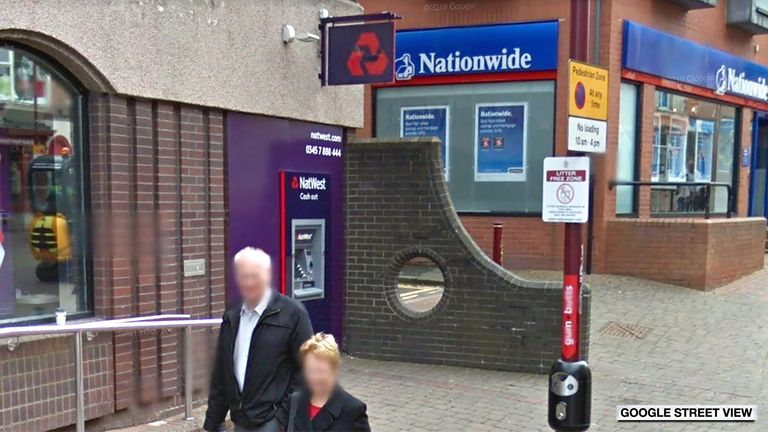 The Natwest hole in Derbyshire