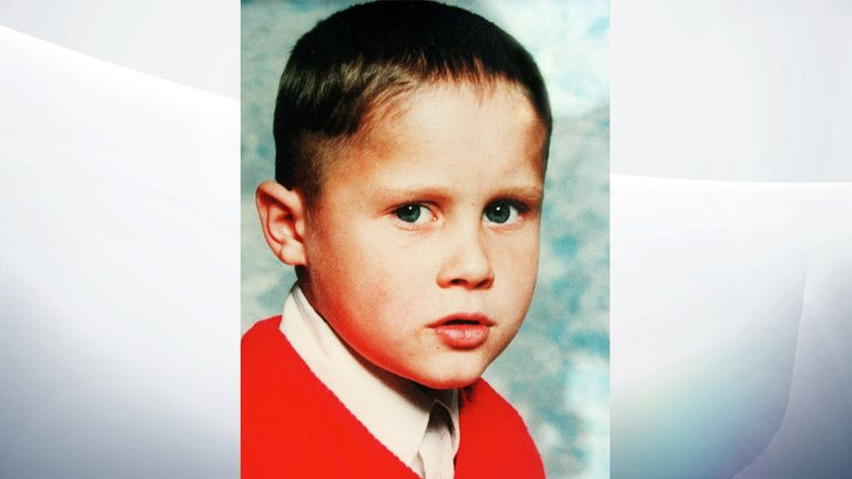 Undated handout file photo of Rikki Neave, as a 38-year-old man has been charged with murdering the six-year-old schoolboy more than 25 years ago