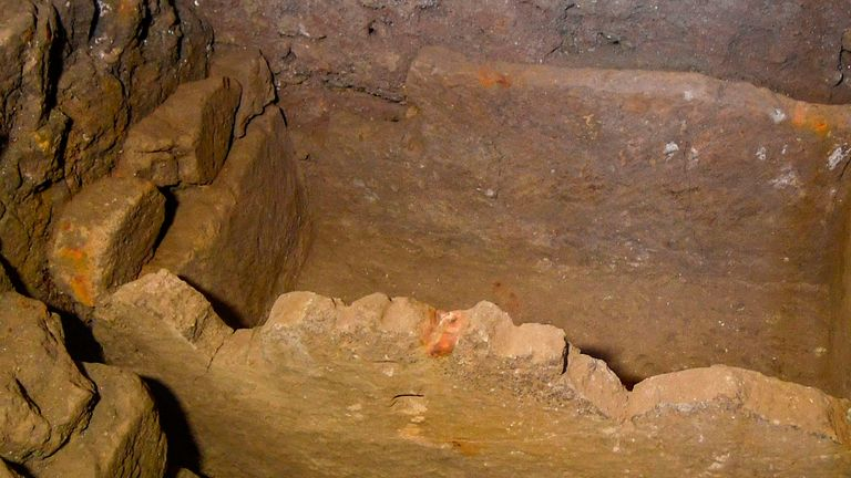 The tomb is believed to date back to the 6th century BC