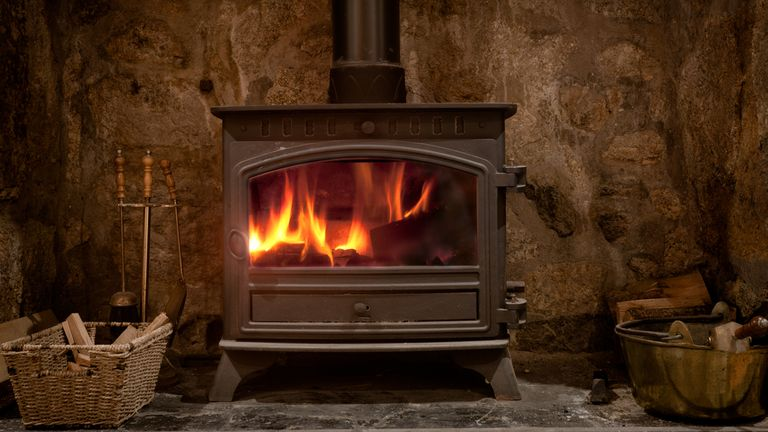 Wood burning stoves will be phased out from next year