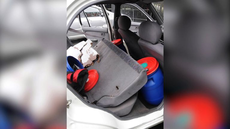 The ingredients for their bomb would remain stored in a Nissan Micra while the brothers left the country