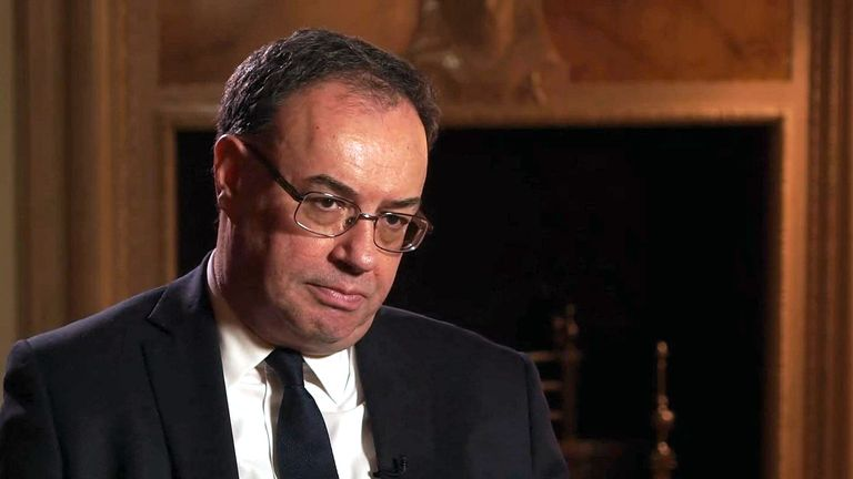 The New Bank of England Governor Andrew Bailey speaks about coronavirus.