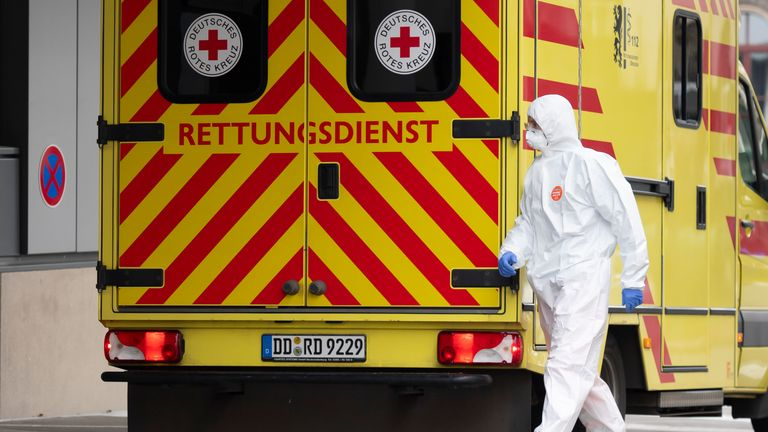 Just 0.6% of Germany's confirmed coronavirus cases have ended up being fatal