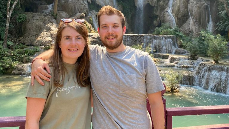Liam Mason and his girlfriend say they've had no help from the UK government to get home from Cambodia.