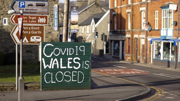 Anti-tourist signs that have been cropping up in North Wales. Pic:  Marcin Liberacki