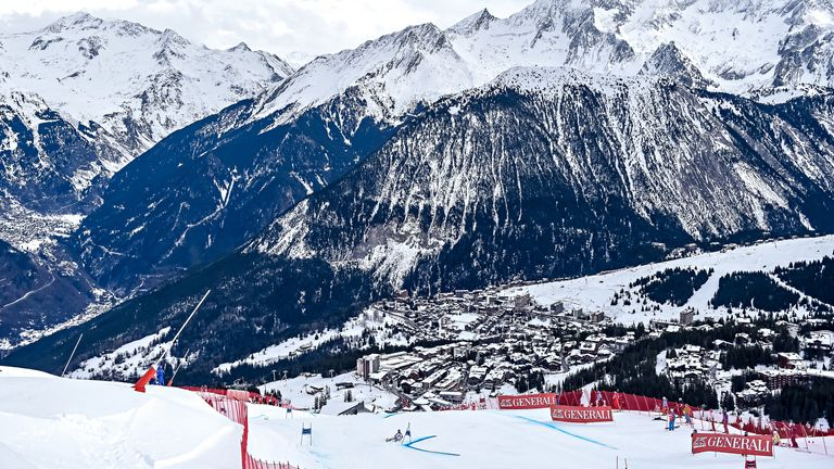 Courcheval in Les Trois Vallees, France, cancelled events on Friday before having to close down the next day