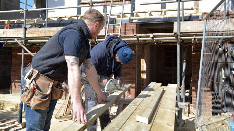 Self-employed builders