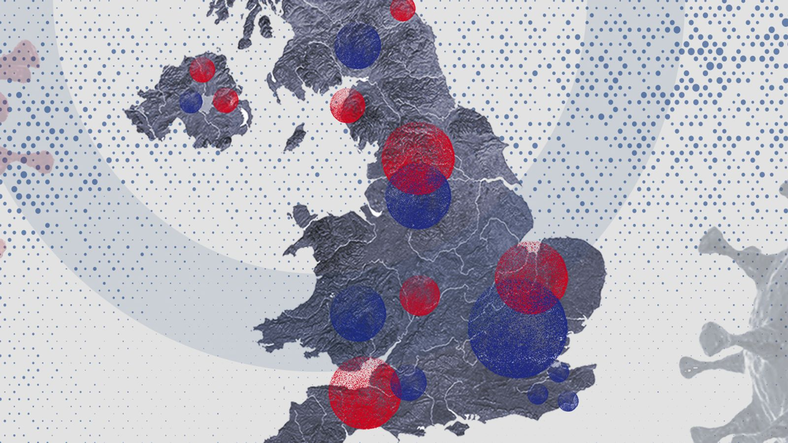 Coronavirus: The UK's current COVID-19 hotspots - and how your area compares