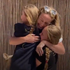 'Mummy!': NHS worker reunited with her daughters after nine weeks