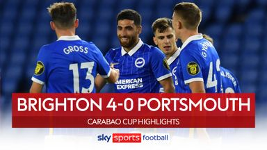 Brighton 4-0 Portsmouth